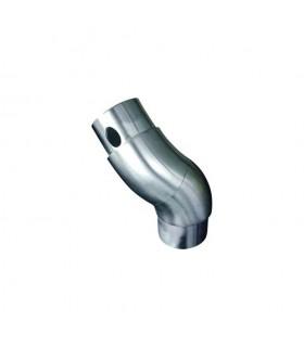 Connecteur réglable de tube rond Ø42,4mm INOX316