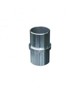 Connecteur droit jonction de tube rond Ø42,4mm INOX316