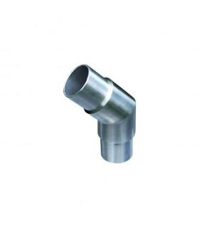 Connecteur en angle coudé 135° Ø42,4mm INOX316