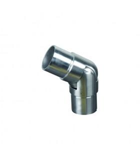 Connecteur orientable 135°à 180° Ø42,4mm INOX316