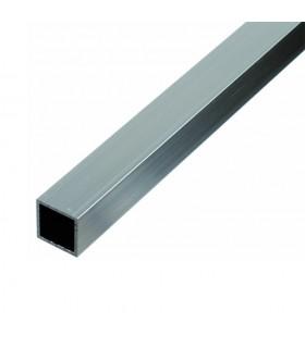 Tube carré INOX316 40x40mm brossé grain 320