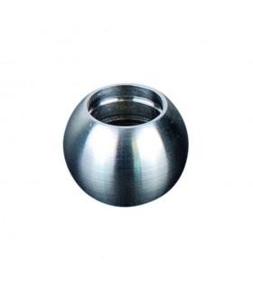 Boules pleines INOX316 Ø17,5mm avec trou borgne Ø12mm