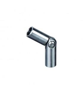 Raccord orientable INOX304 pour ronds Ø10mm