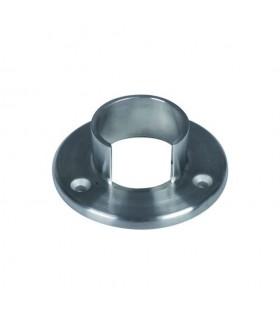 Plaque de fixation de main courante inox ronde Ø42,4mm