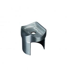 Connecteur de main courante inox ronde Ø42,4mm et tube inox