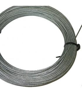 Câble rond acier inoxydable 316 Ø4mm