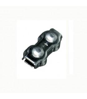 Bloque câble acier inoxydable 316 Ø6mm