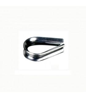 Anneau pour bloque câble acier inoxydable 316 Ø6mm