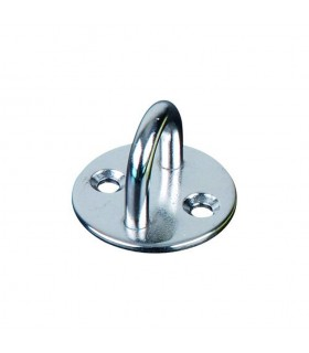 Platine base ronde avec anneau inox 316