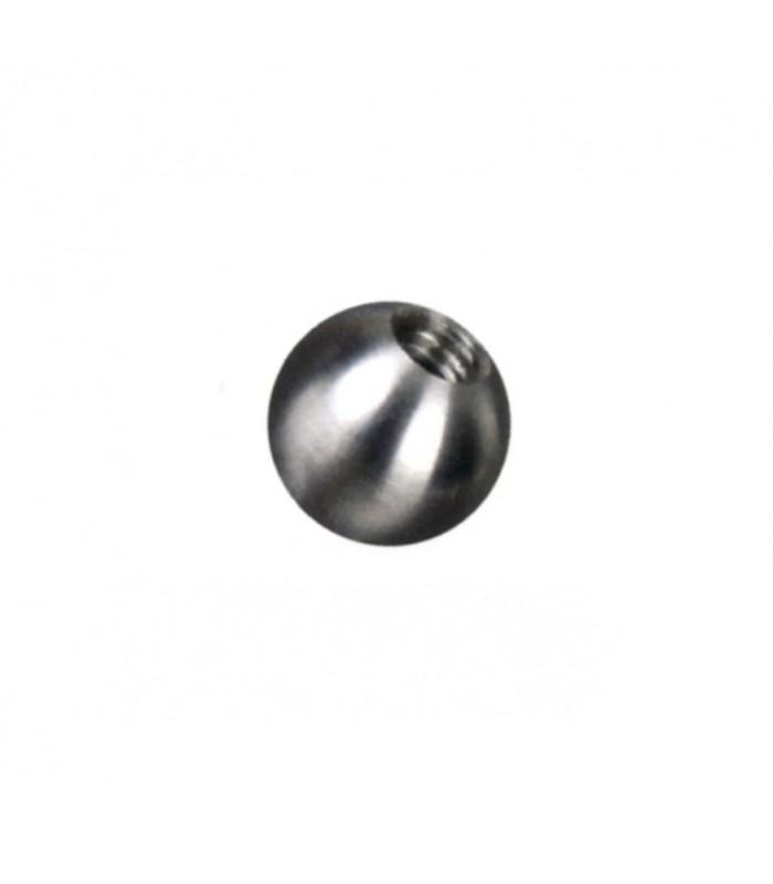 Boule inox 316 Ø15 et Ø25 taraudée