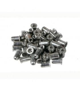 Rivets aluminium M6 pour tubes inox (boite de 50 pièces)