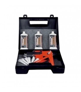 Kit complet de collage pour acier inox bi-composant