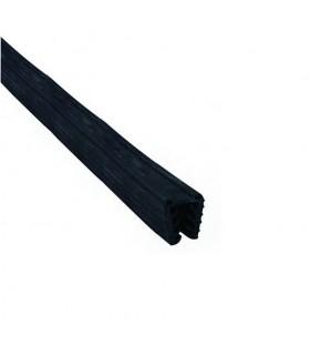 Joint caoutchouc pour main courante ronde Ø42,4mm verre epr 16,76mm