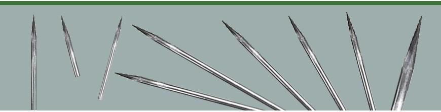 Barreaux appointés à l'ancienne ronds Ø 14 mm