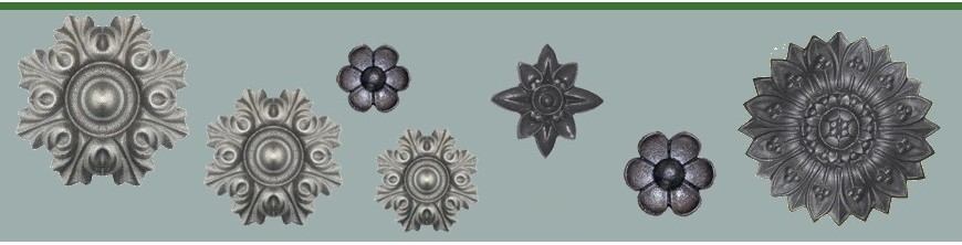 Rosaces en aluminium pour la décoration