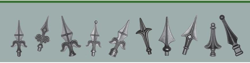 Pointes de lances, fers de lances