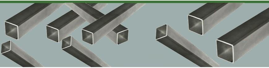 Barres de profilés tubes creux carrés en acier pour portails métal