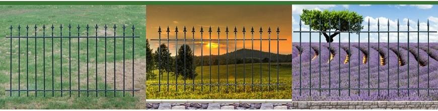 Une gamme de clôtures à assembler soi-même SANS SOUDURE