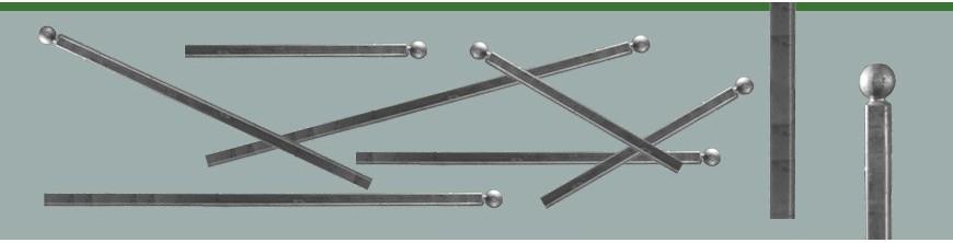 Poteaux à sceller, prête à poser, plusieurs hauteurs, 3 niveaux de finitions