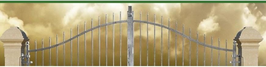 Portails ouvrants largeur 3m ou 3,5m, ouverture manuelle ou motorisable
