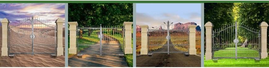 Très belle gamme de portails ouvrants de qualité Cancelli livré en 3m.