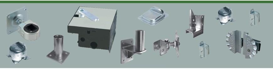 Accessoires au détail des portails ouvrants 3m et 3,5m gamme Cancelli