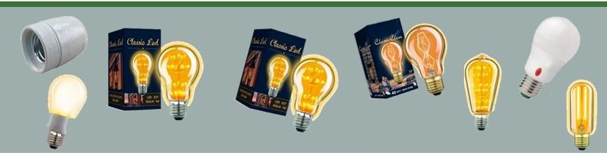 Ampoules LED et douilles pour tous types pour luminaires