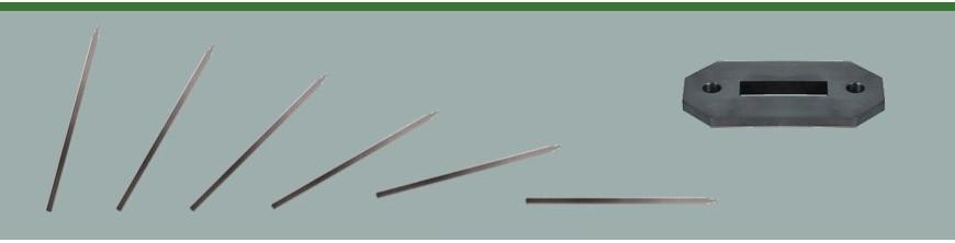 Poteaux en acier doux pour garde corps ou escaliers