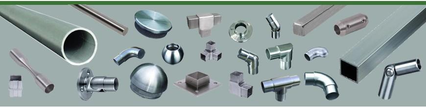 Tubes inox 304 et316 ronds ou carrés et ronds pleins inox Ø10 à 14mm