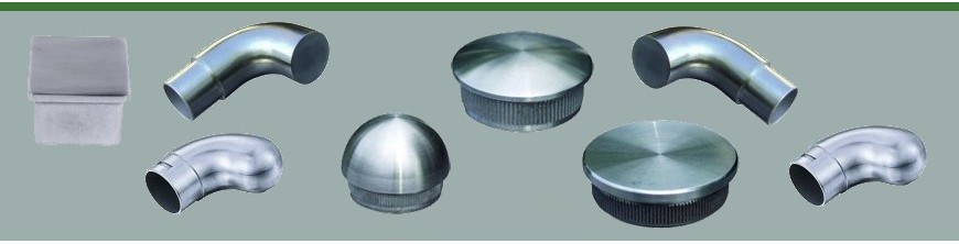 Bouchons de tubes en acier inoxydable disponibles en Ø42,4mm et  Ø48,3mm…