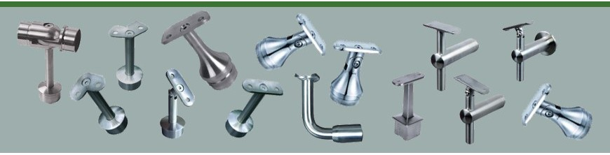 Supports tubes inox