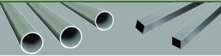 Tubes ronds en acier inoxydable ronds et carrés pour mains courantes