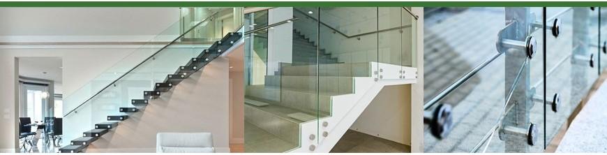 Verres feuilletés trempés 8,76mm et 12,76mm pour garde-corps et escaliers découpés à vos mesures…