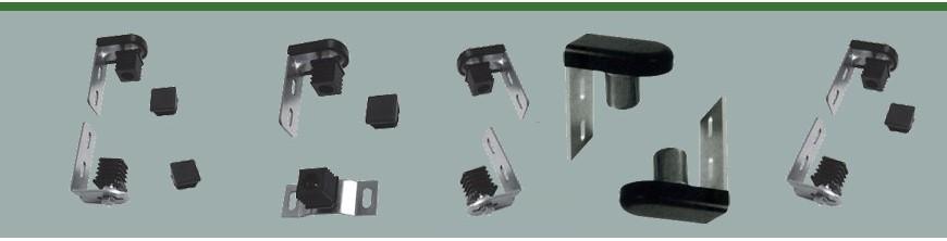 Jeu Gond-Pivot crapaudine nylon pour portails et portillons légers