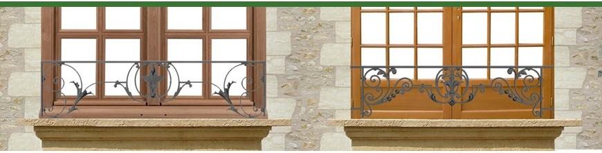 Appuis de fenêtres en fonte