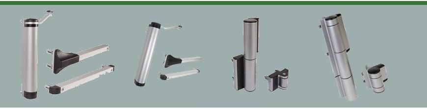 Ferme portes compacts hydrauliques locinox pour portails ou portillons
