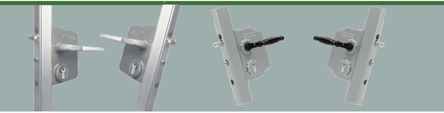Serrures à pène INOX Locinox pour portails ouvrants ou portillons